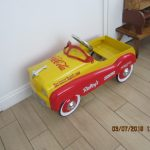 coke pedal car