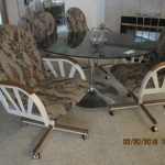 roller table and chairs