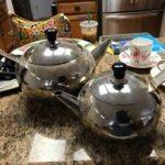 tea pots metal
